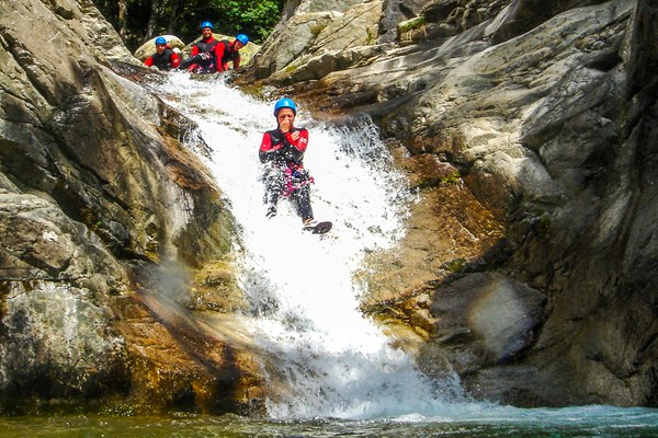 Cors'Aventure à Bocognano - Canyon de la Richiusa