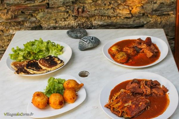 Restaurant A Casella à Farinole