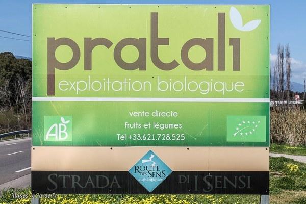 Pratali - Maraîcher Bio à Bastia et Folelli