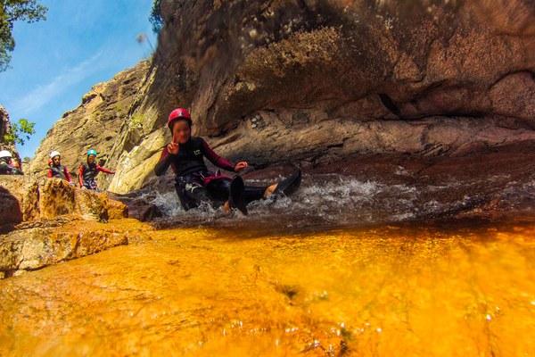 Canyoning Propriano - Baracci Canyon - Cors'Aventure