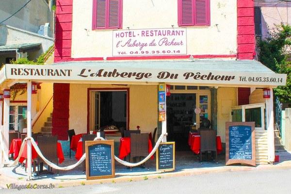 Restaurant l'Auberge du Pêcheur à Centuri