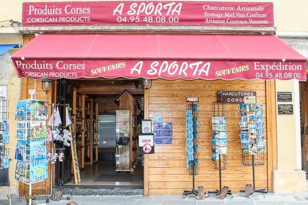 A Sporta à Corte - Souvenirs et produits corses