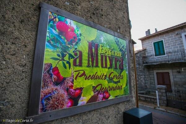 Epicerie A Muvra à Zonza - Produits corses