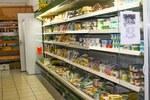 Produits frais bio fromages beurre