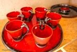 Service à cafe poterie