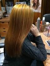 Lissage cheveux