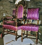 Chaises restaurees