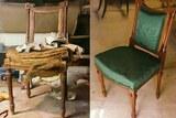 Restauration chaise silvia deco