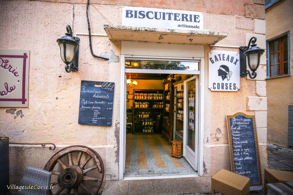 Biscuiterie artisanale Salvatori Ile-Rousse