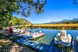 Camping avec ponton pour bateau
