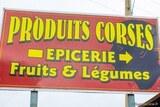 Produits corses epicerie fruits legumes
