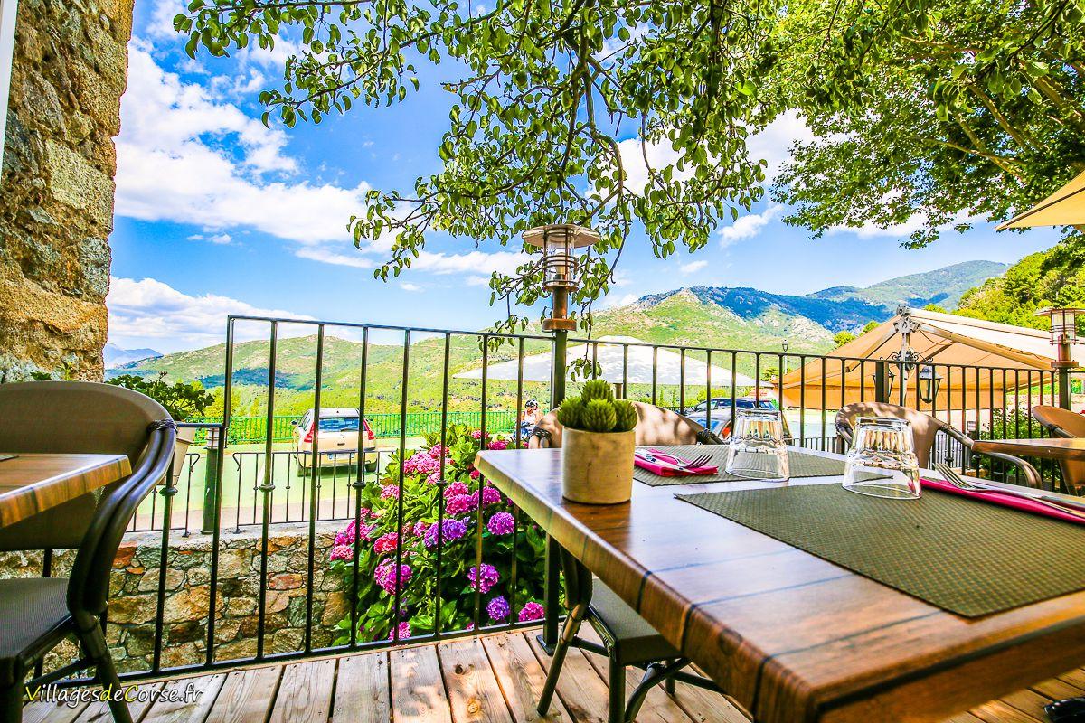 Hotel restaurant montagne corse GR20 vivario