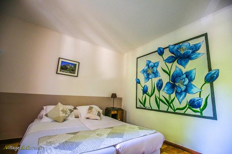 Chambre 2 places vizzavona Monte d Oro Hôtel à Vivario