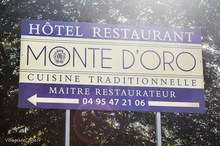 Hotel restaurant gite refuge monte d oro col vizzavona corse Monte d Oro Hôtel à Vivario
