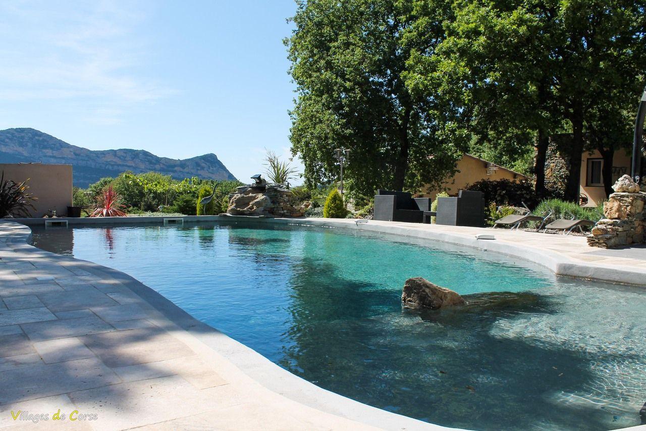 G te et chambres d 39 h tes casa andria barbaggio for Camping corse bastia avec piscine