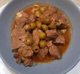 Saute veau olives