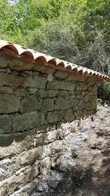 Mur exterieur aspect pierres seches