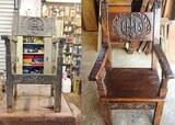 Restauration fauteuil XVIIe