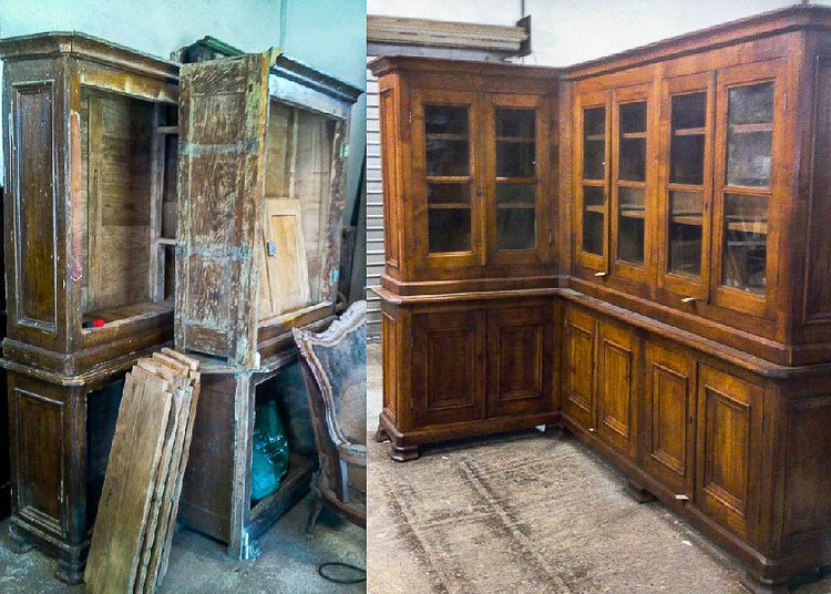 Menuiserie b nisterie olivieri borgo menuisier b niste for Restauration de meubles anciens