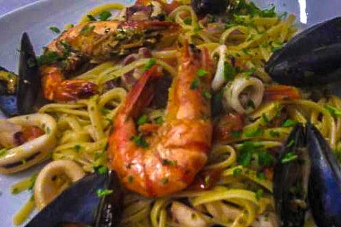 pates maison moules restaurant italien corse il pulcinella