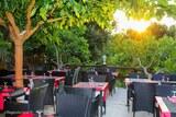Coucher de soleil restaurant corse
