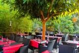 Terrasse restaurant corse