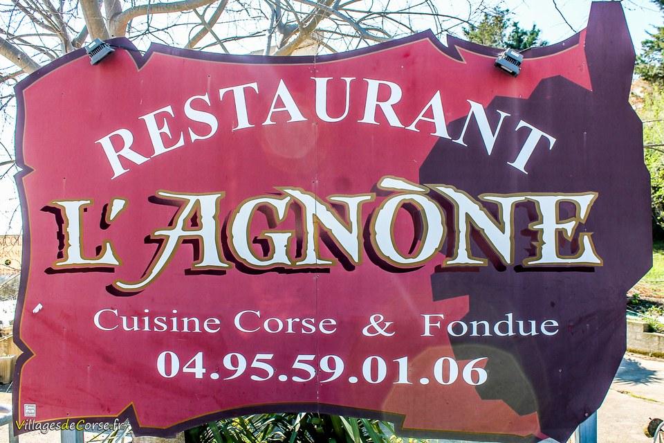 Restaurant l agnone corse lucciana borgo