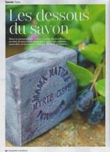 Article - Savonnerie du Nebbiu - Patrimonio