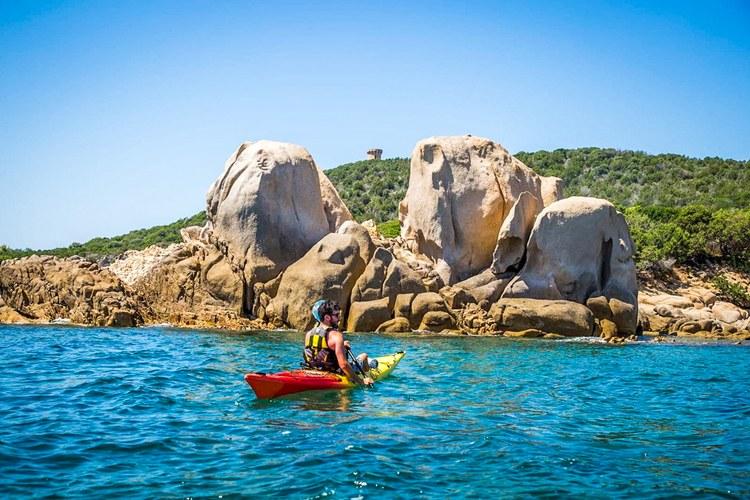 Kayak isolella