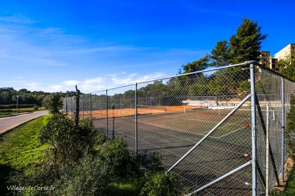 Terrain tennis porticcio terra bella