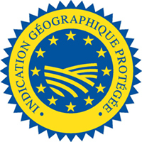 Logo Indication d'origine protégée