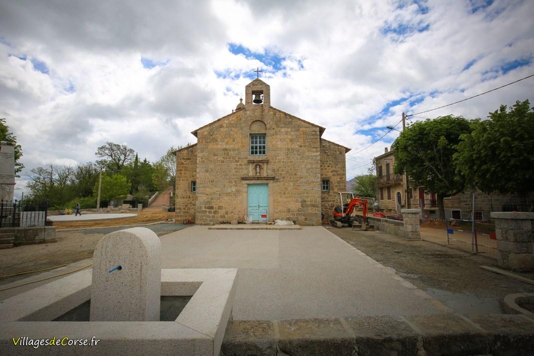 Eglise - Saint Nicolas - Aullène