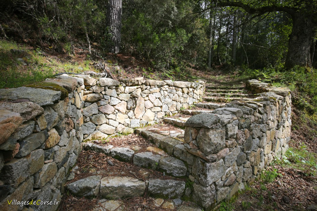 Escaliers - Aullène