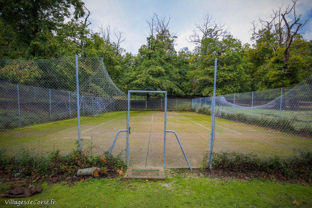 Terrain de tennis - Aullène