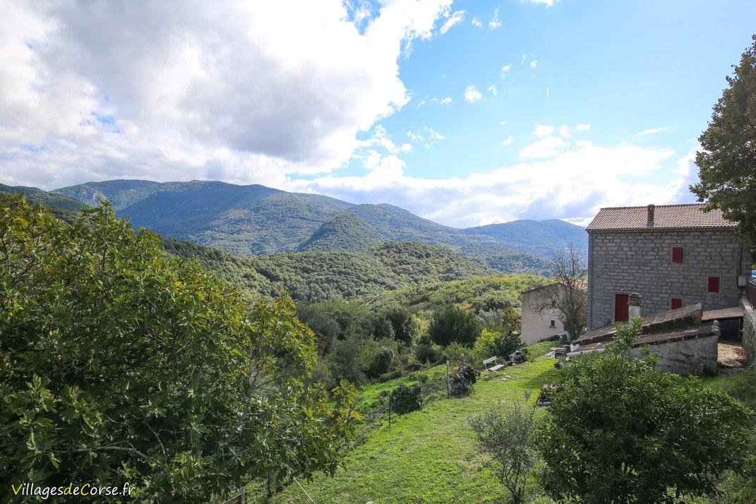 Vue - Loreto di Tallano