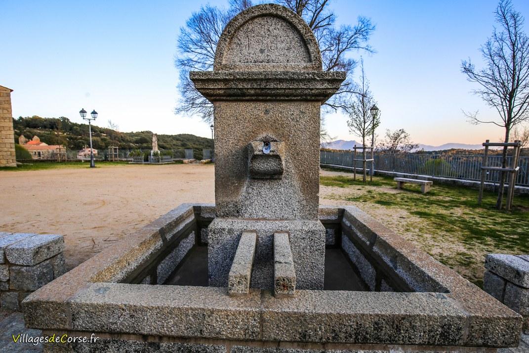 Fontaine de l'Eglise - Quenza