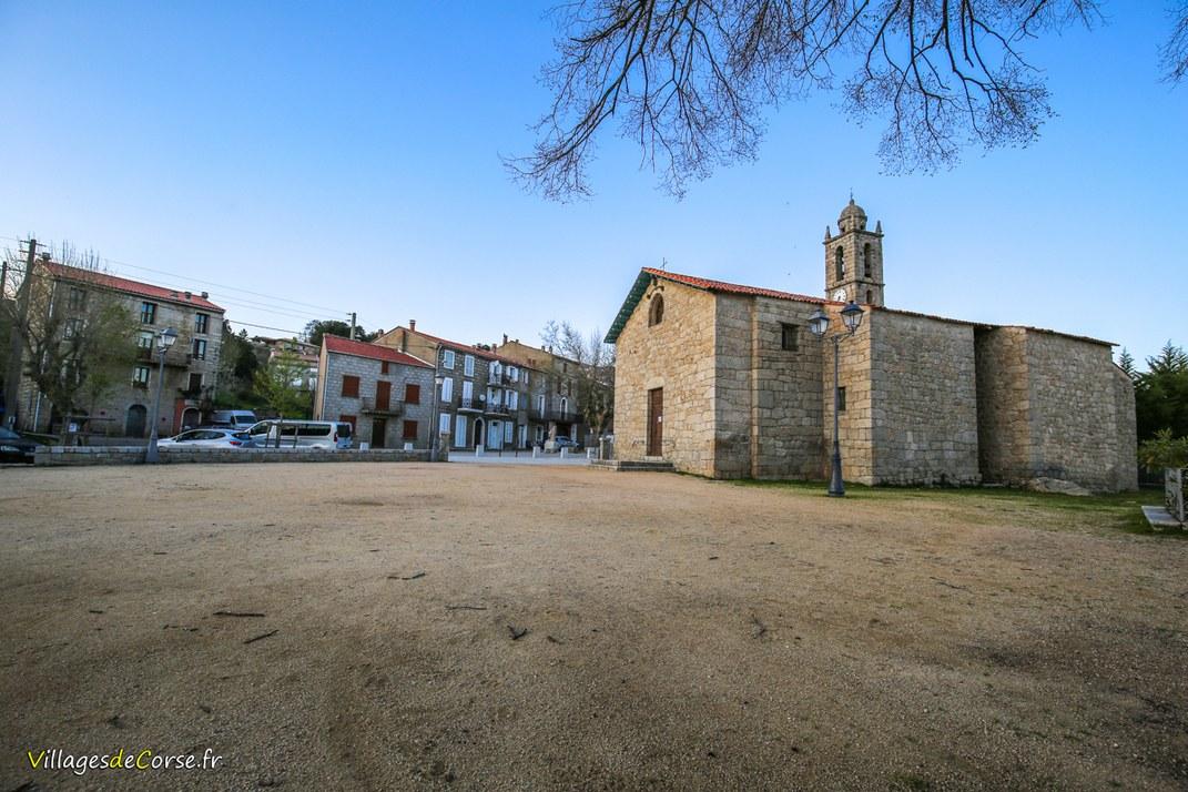 Place de l'Eglise - Quenza