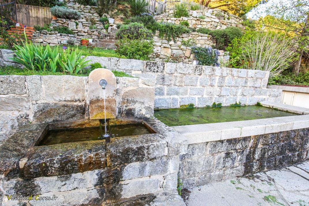 Fontaine - Serra di Scopamène
