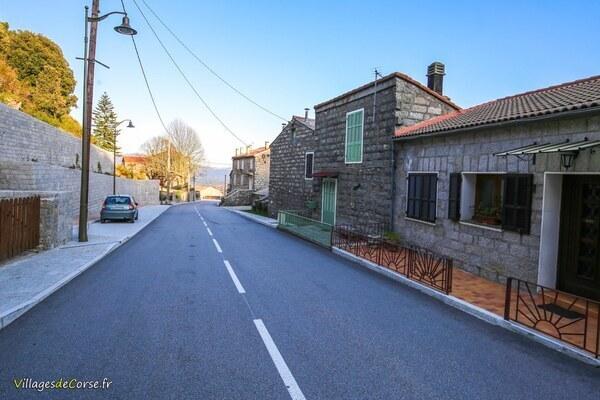 Route - Serra di Scopamène