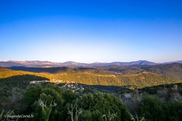 Vue - Serra di Scopamène