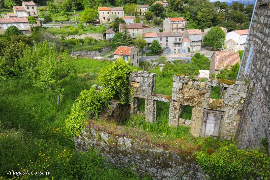 Ruine - Serra di Scopamène
