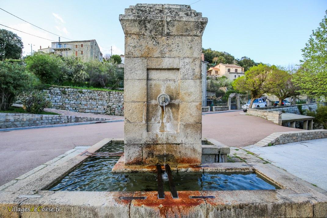 Fontaine de l'Eglise - Sorbollano