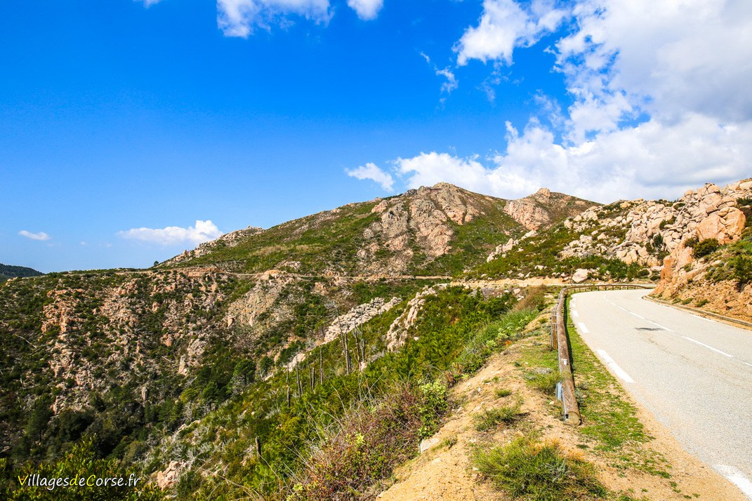 Route - Zérubia
