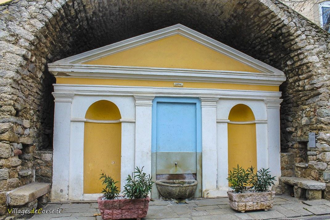 Fontaine - Concerca - Algajola