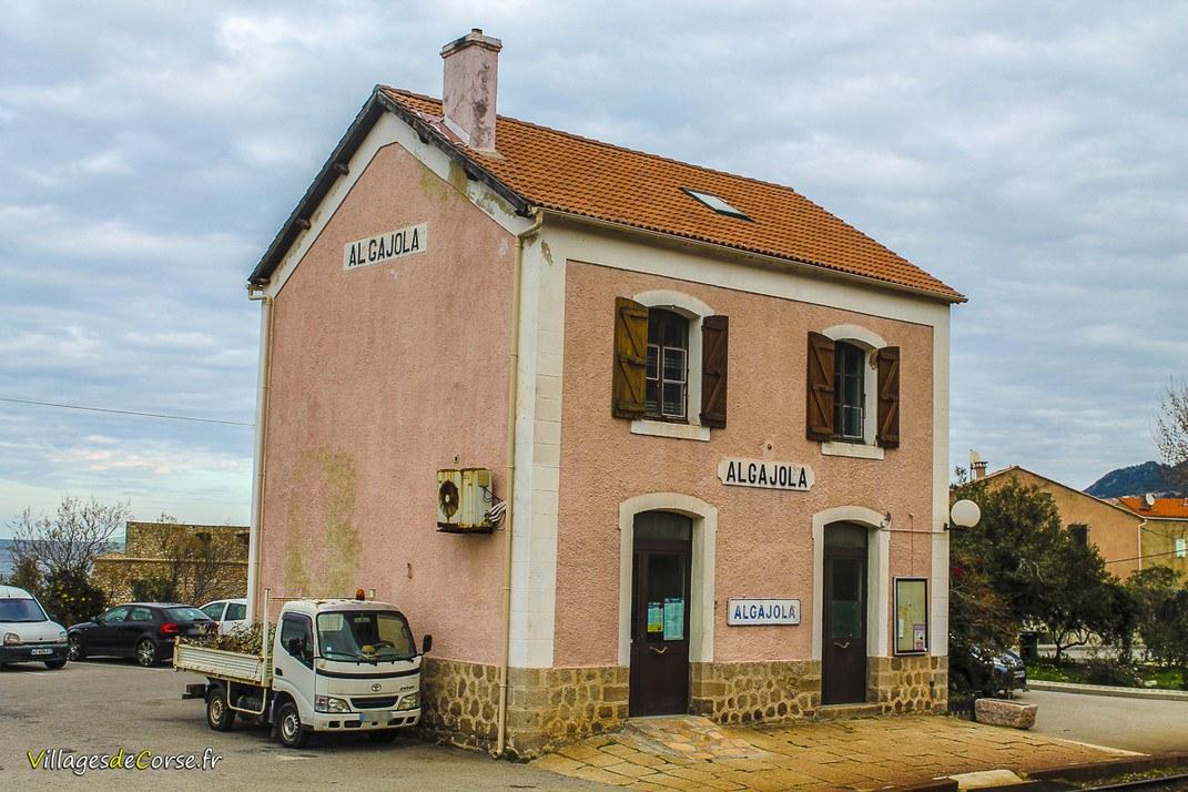 Gare - Algajola