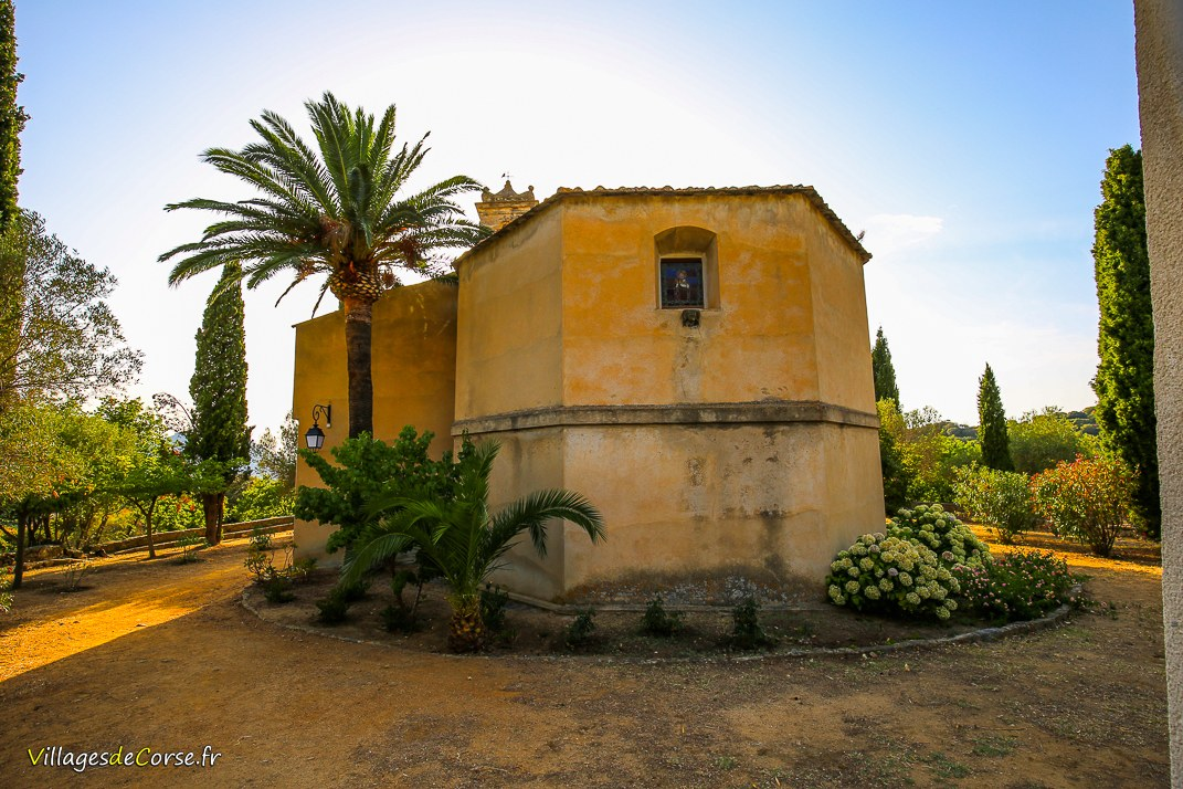 Chapelle - Notre Dame de Lazio - Corbara
