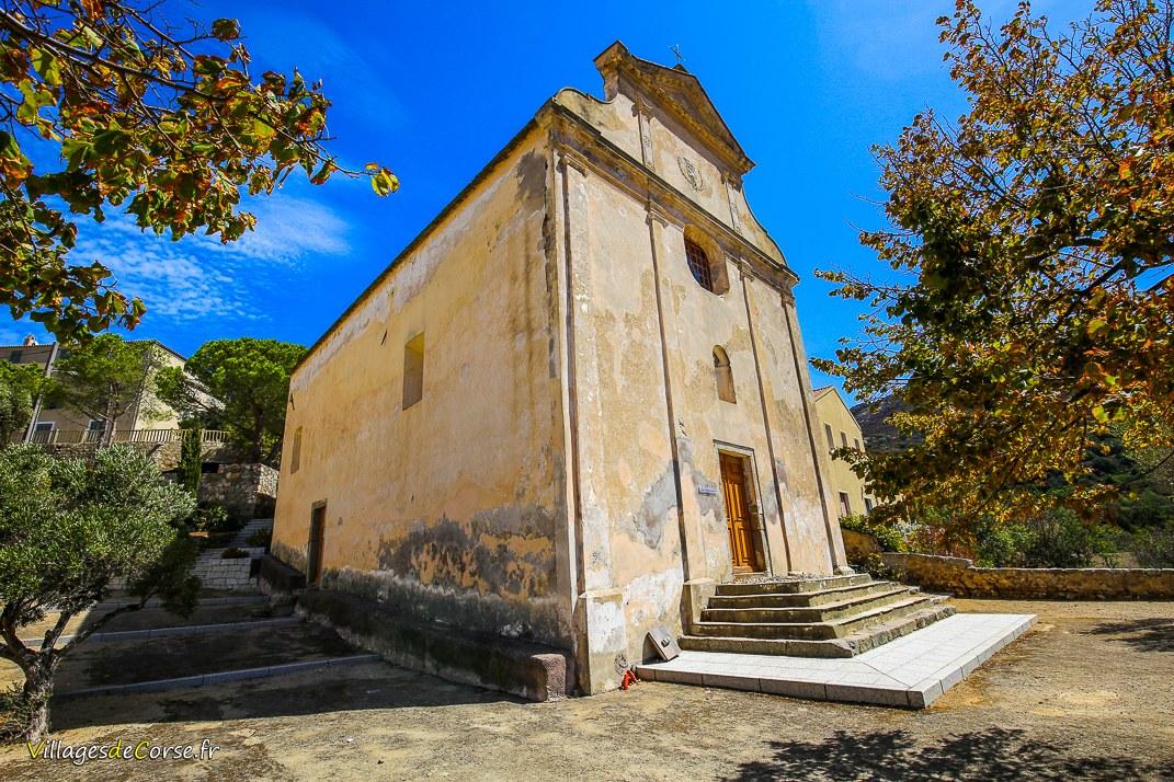 Eglise - Confrérie Saint-Antoine Abbé - Corbara