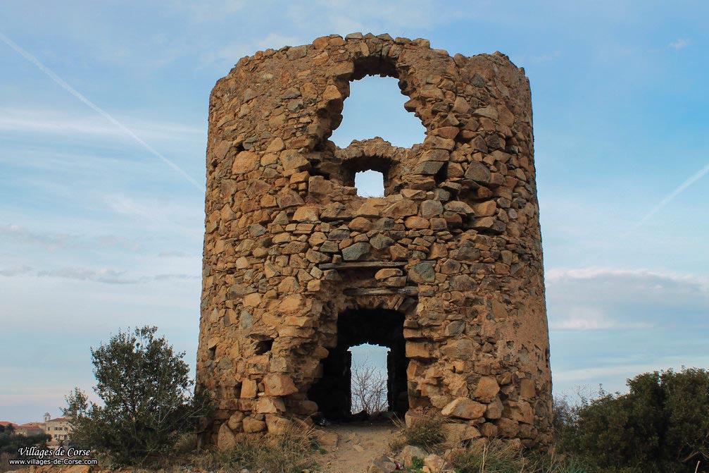Moulin à vent - Île Rousse