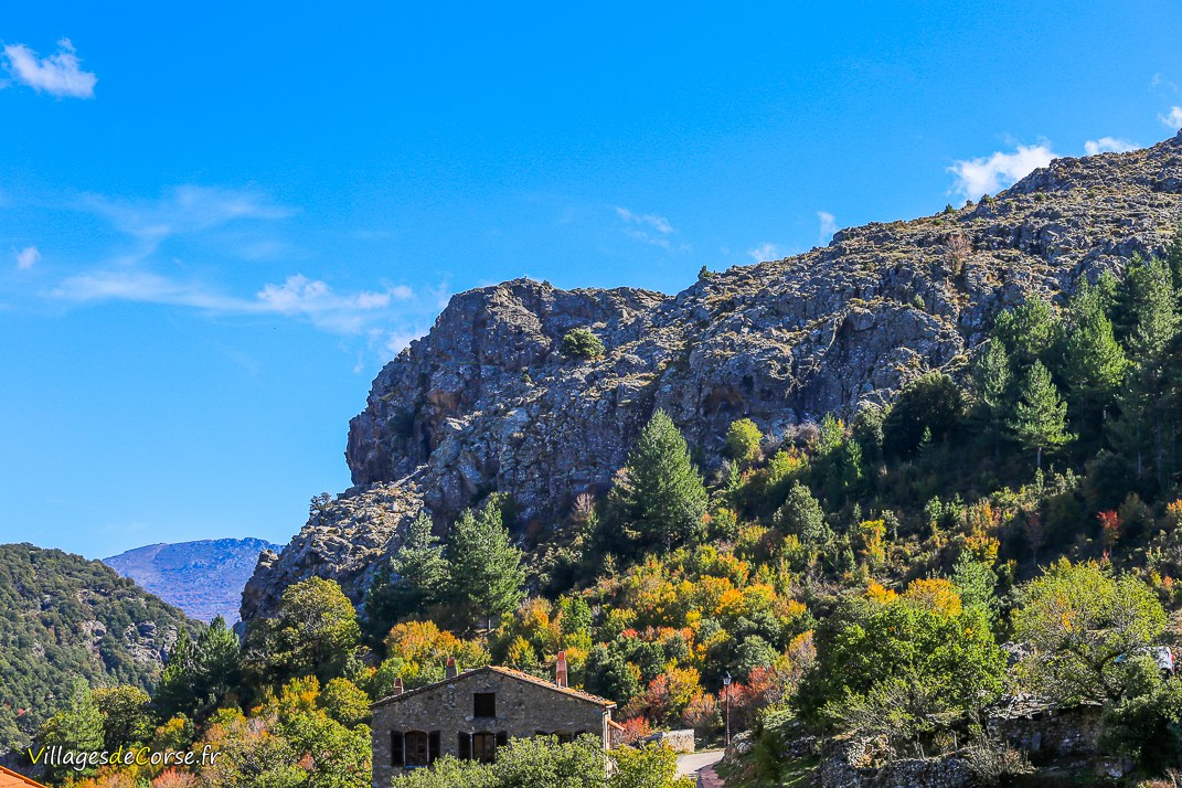 Gorges du Francioni - Mausoléo