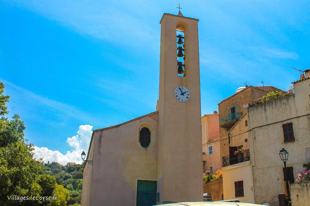 Eglise - San Sebastianu - Monticello